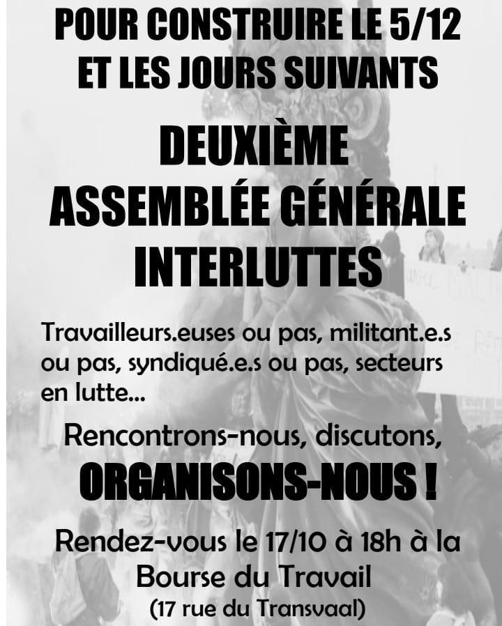 """Résultat de recherche d'images pour """"greve du 5/12 préparatifs"""""""